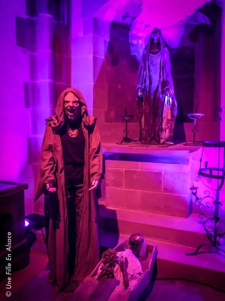 Halloween au Château du Haut-Koenigbsourg - Photo Céline Schnell Une Fille En Alsace