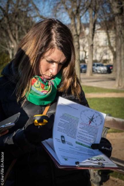 rallye GPS à Ribeauvillé Agence Maorn Photo Céline Schnell Une Fille En Alsace