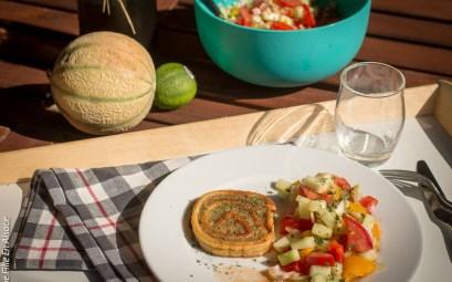 Salade portugaise et Fleischnacka ©Celine-Une-Fille-En-Alsace-2019