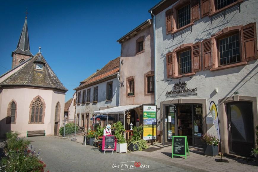 Ruchers des Vosges du Nord la boutique de La Petite Pierre