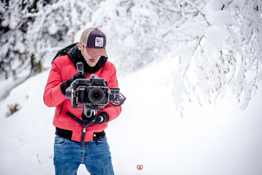 Steve Maire No Limits en tournage dans le Massif des Vosges - Une Fille en Alsace