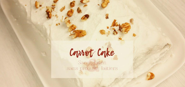 Carrot Cake super moelleux à la vapeur (sans gluten, sans produits laitiers, paleo)