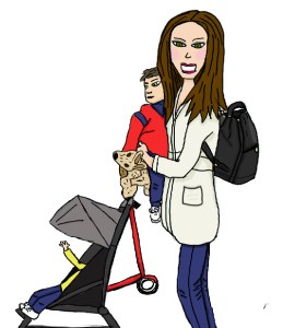 sac à dos à langer-une Maman Qui Cartonne