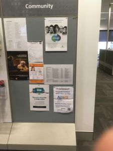 AUWU leaflet spotted in Centrelink, Townsville