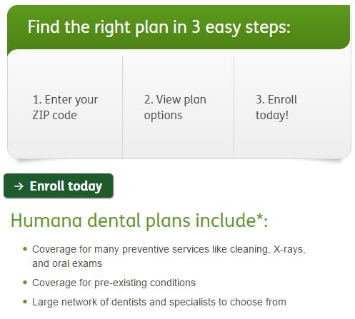 Humana Dental Insurance