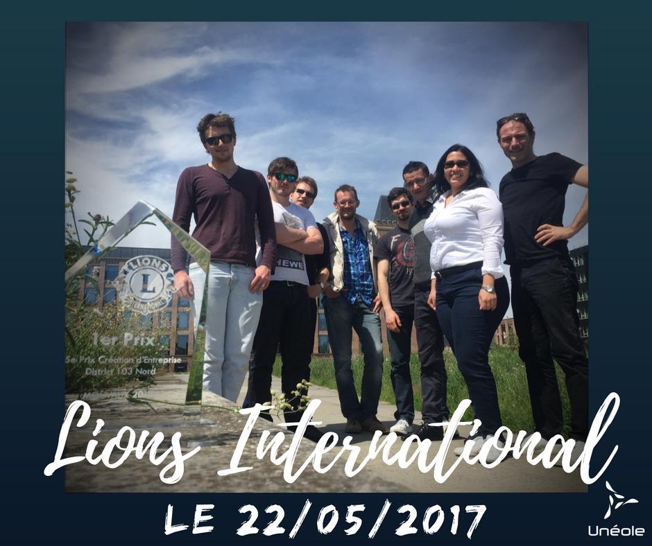 Eolienne Urbaine Eco-conçue Lille Avenir Lions club