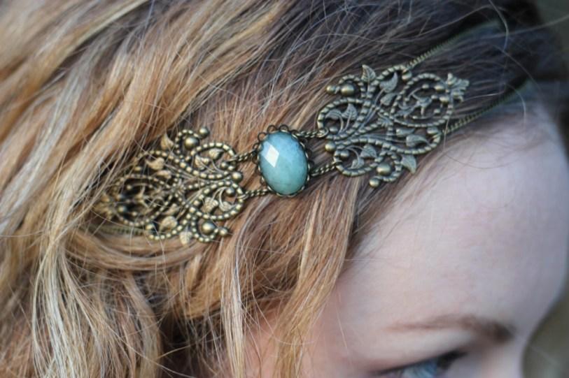 Headband kaméa secrets de cailloux
