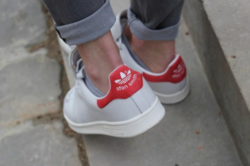 Stan Smith aux pieds