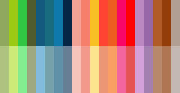 fiche couleurs