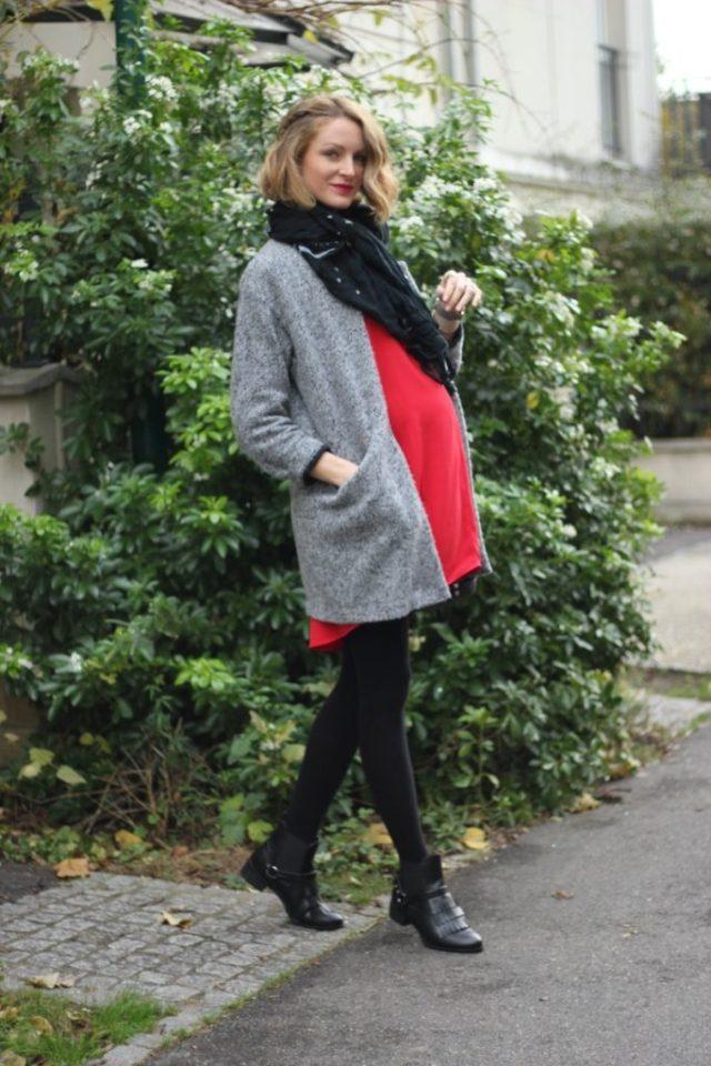 robe-rouge-derhy