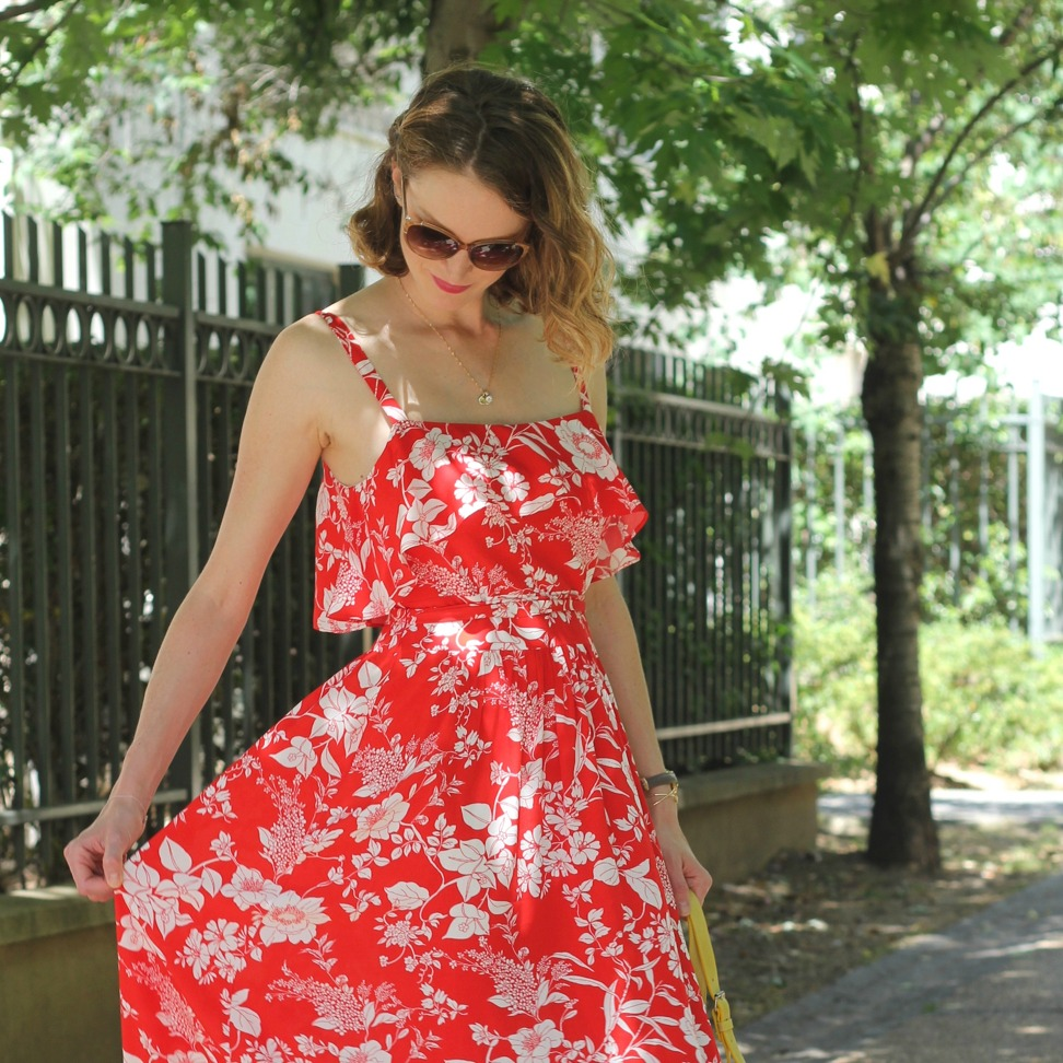 1e4e76db2cd Ma robe rouge bohème - Une parenthèse mode
