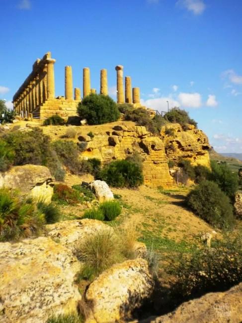 agrigente ruines sicile