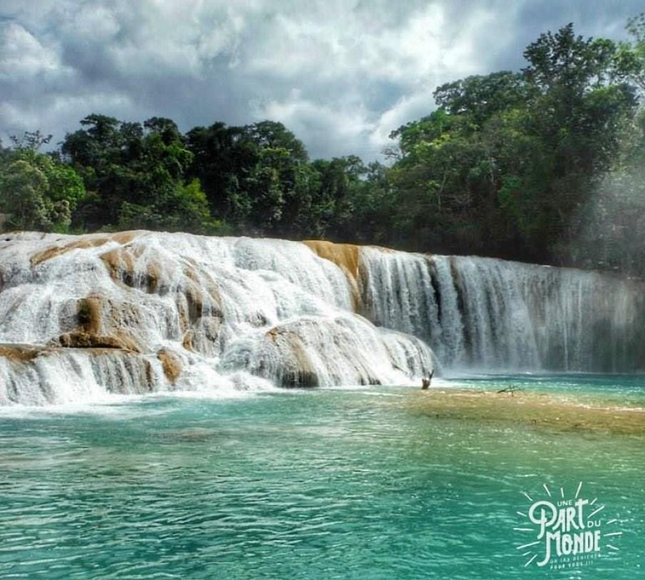 agua Azul cascades