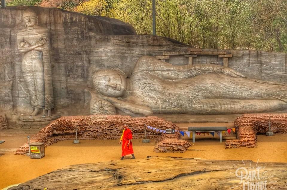 Sri Lanka : Visite du site et lac de Polonnaruwa