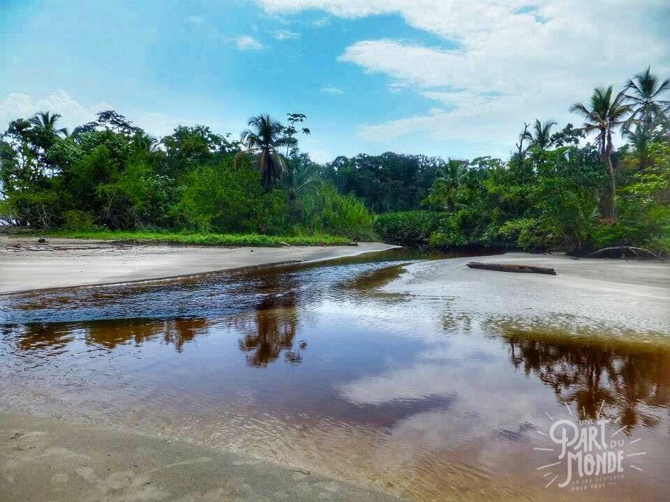 cahuita parc national plage gué