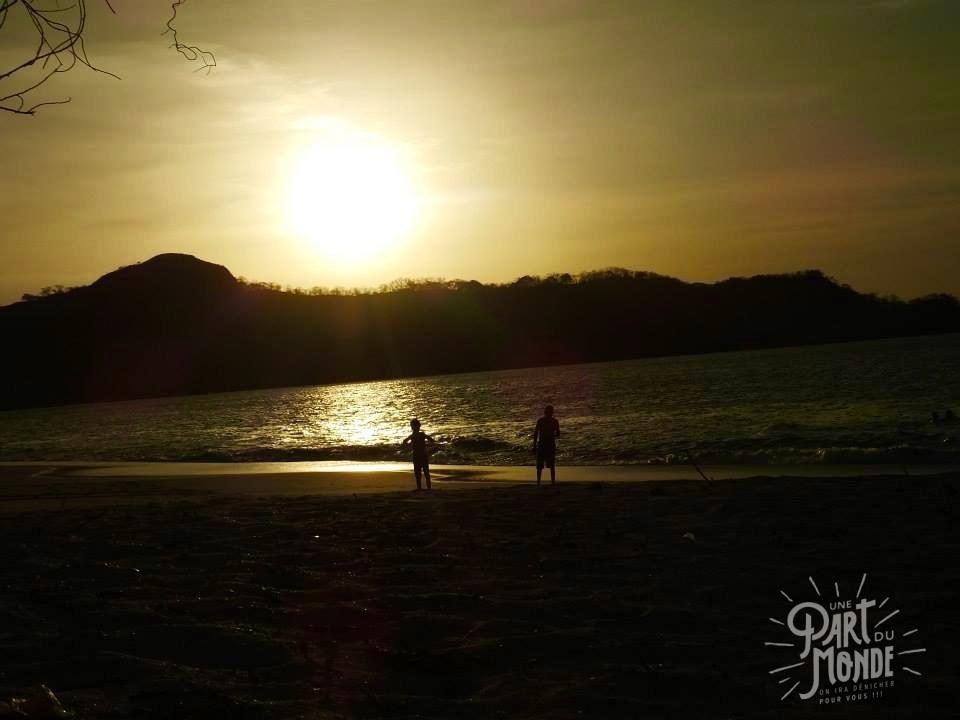 barra honda playa conchal sunset