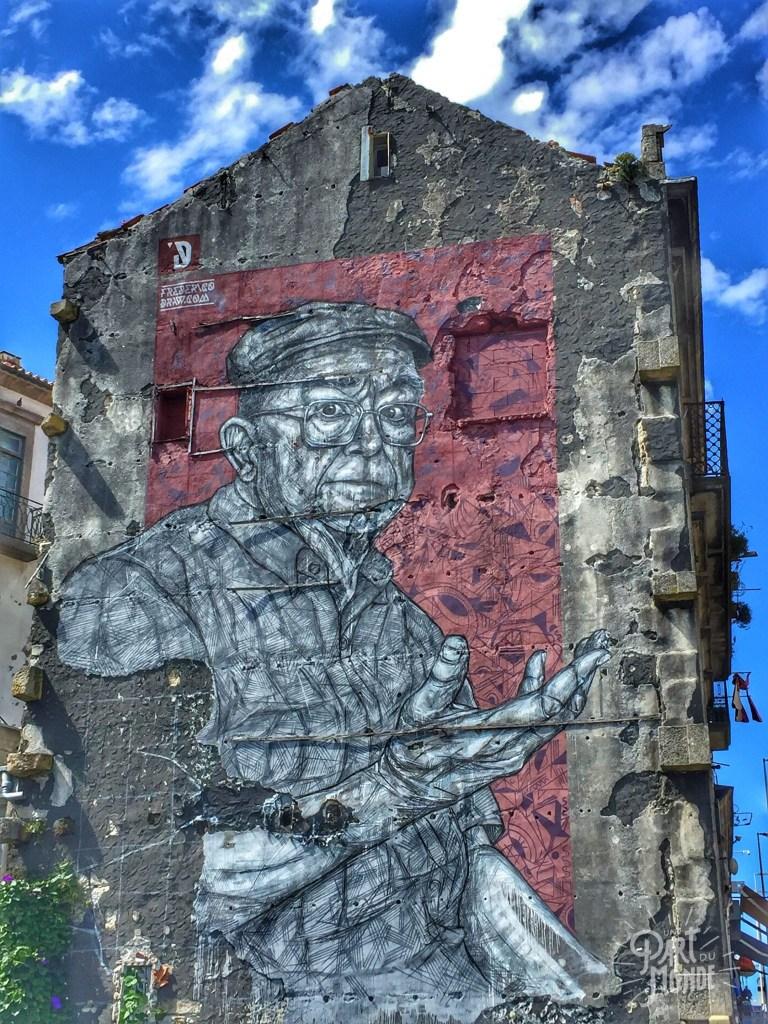 street art mur porto