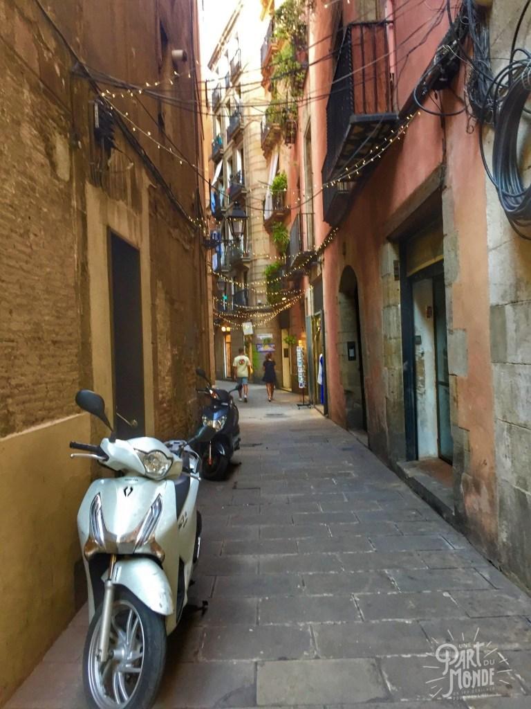 Barcelone rue el born 2