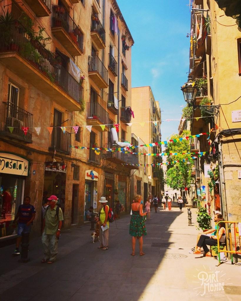 barcelone rue el born