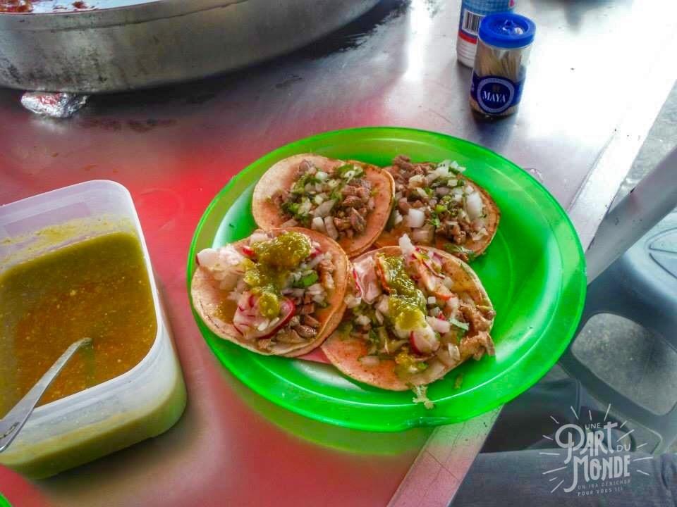 gastronomie mexicain tacos villahermosa