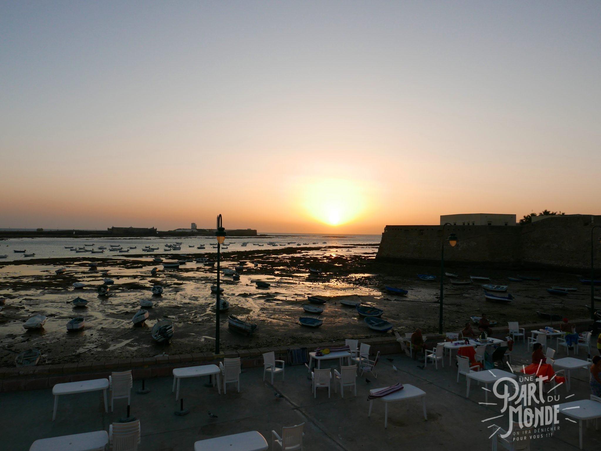 cadix sunset