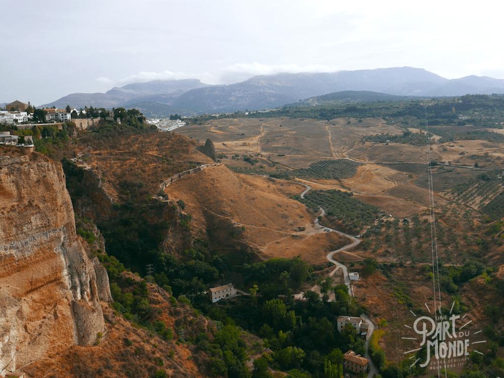vue vallée ronda