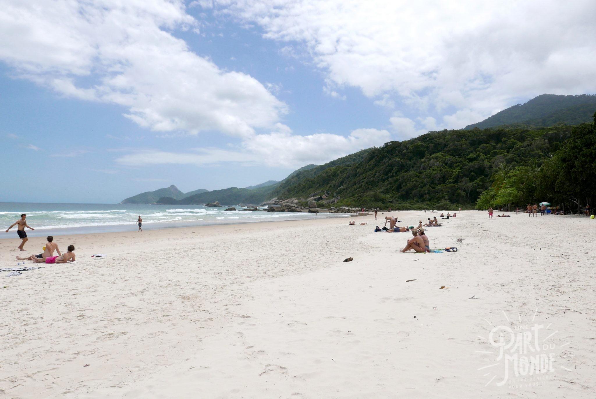 plage mendes lopes ilha grande