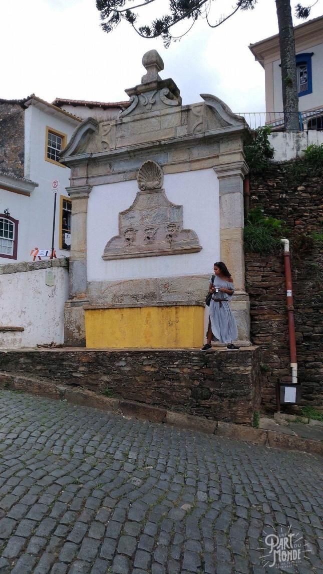 Ouro preto Minas gerais fontaine murale