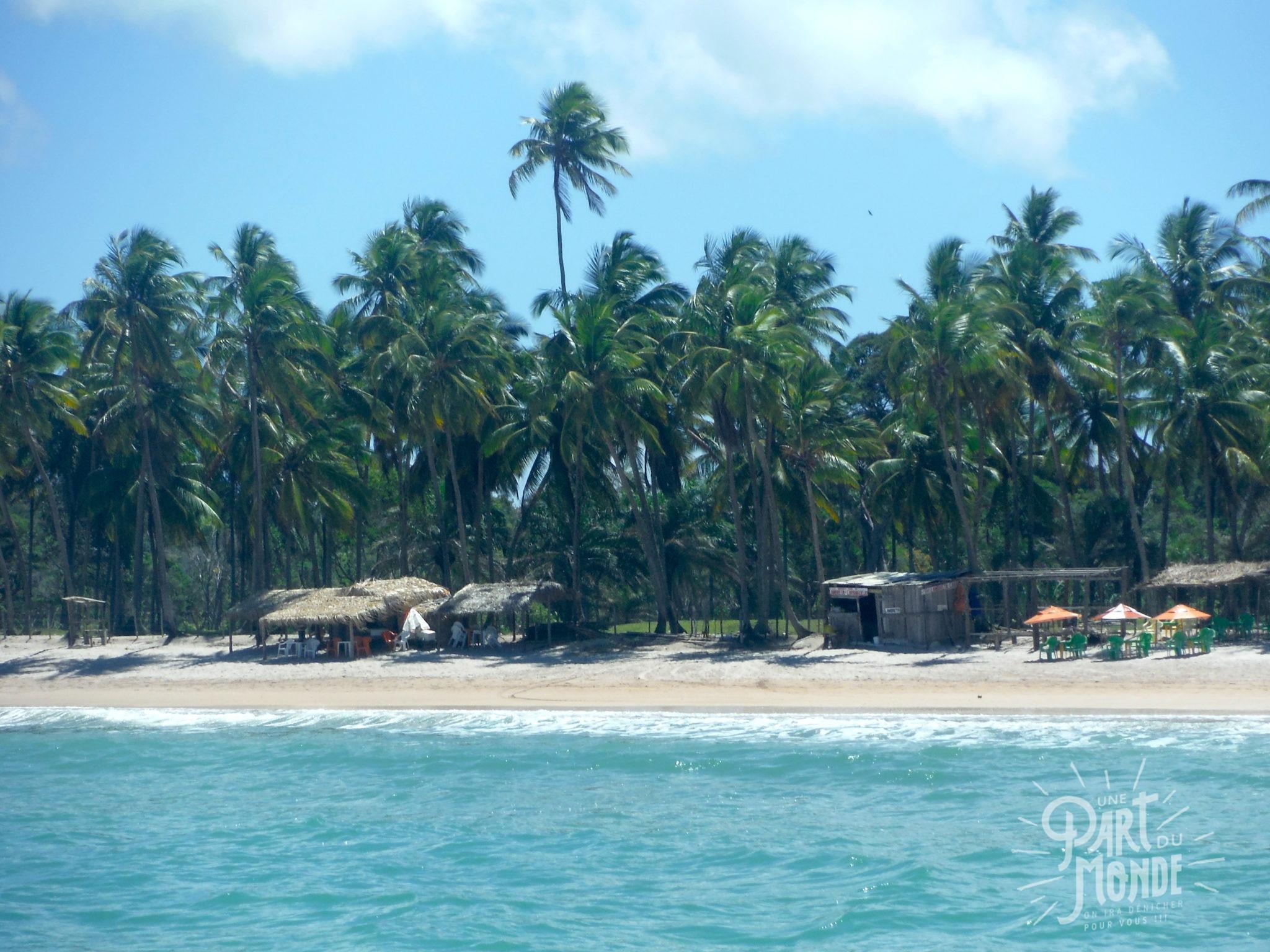 île de tinharé boipeba plage