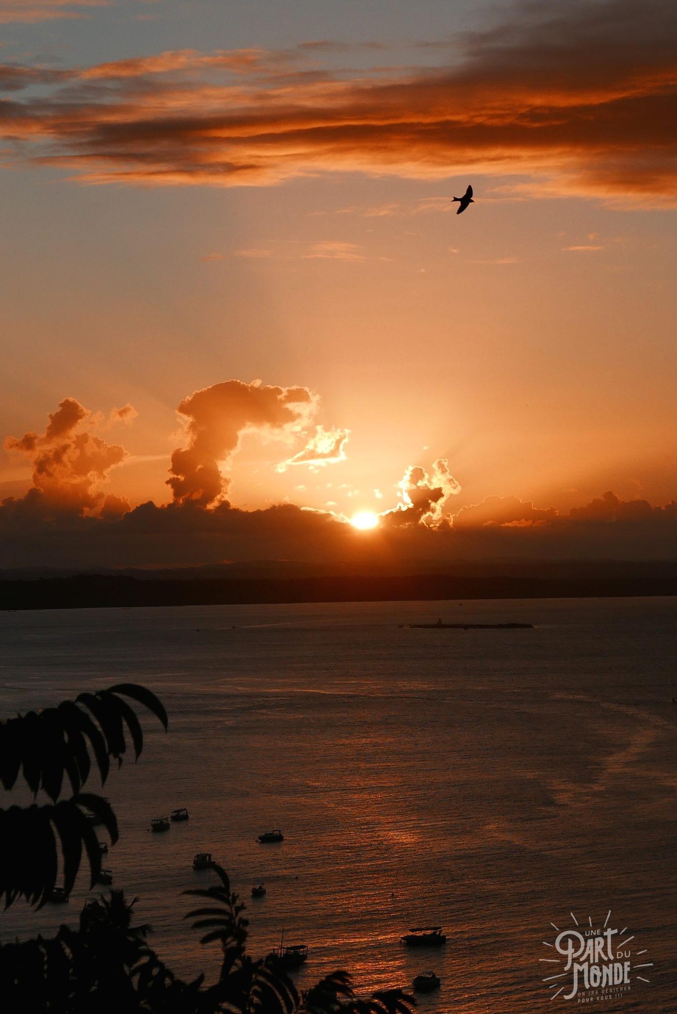 île de tinharé coucher de soleil 2