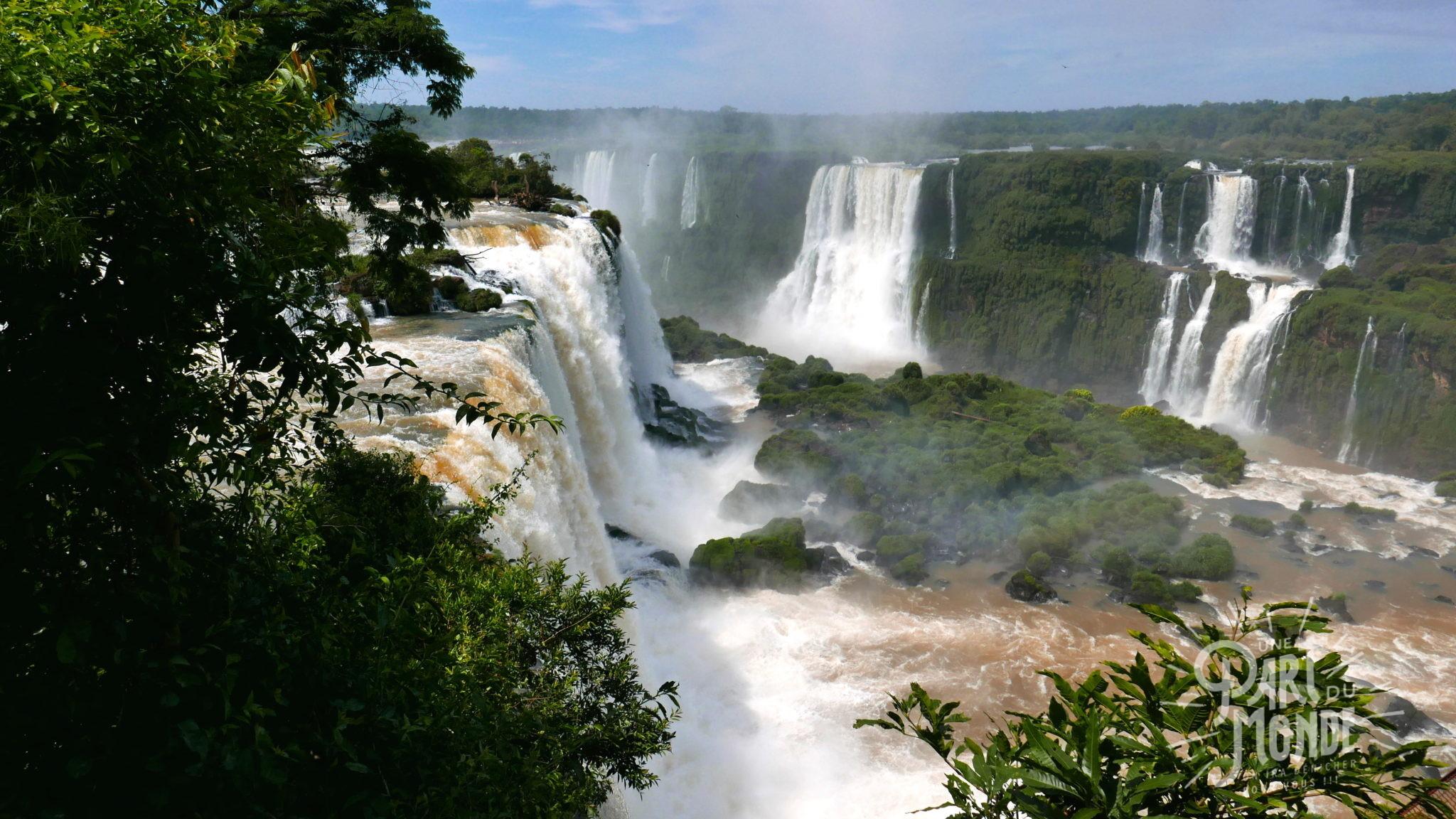chutes d'iguazu côté brésilien7