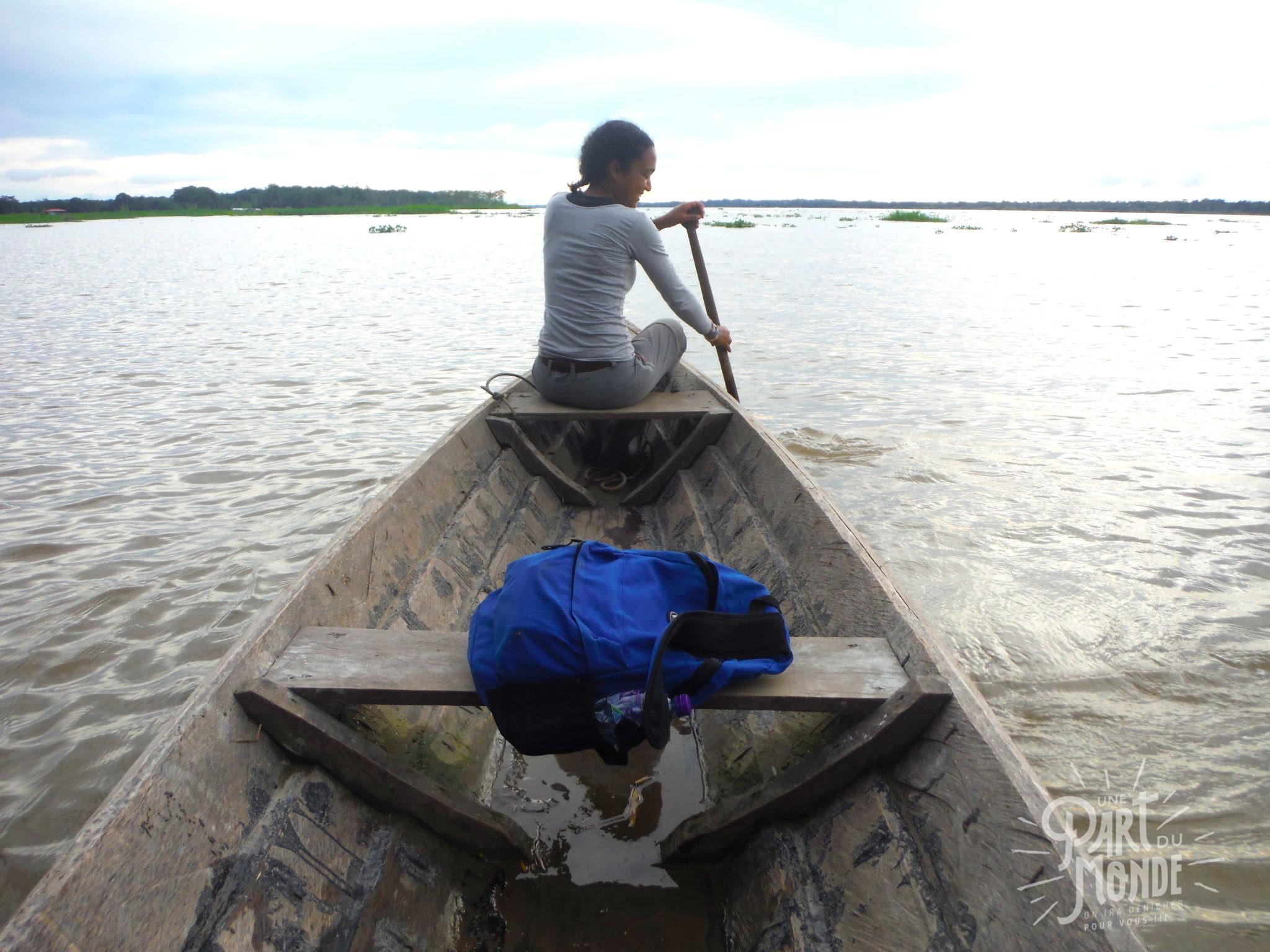 7 mois de voyage canoe amazonie