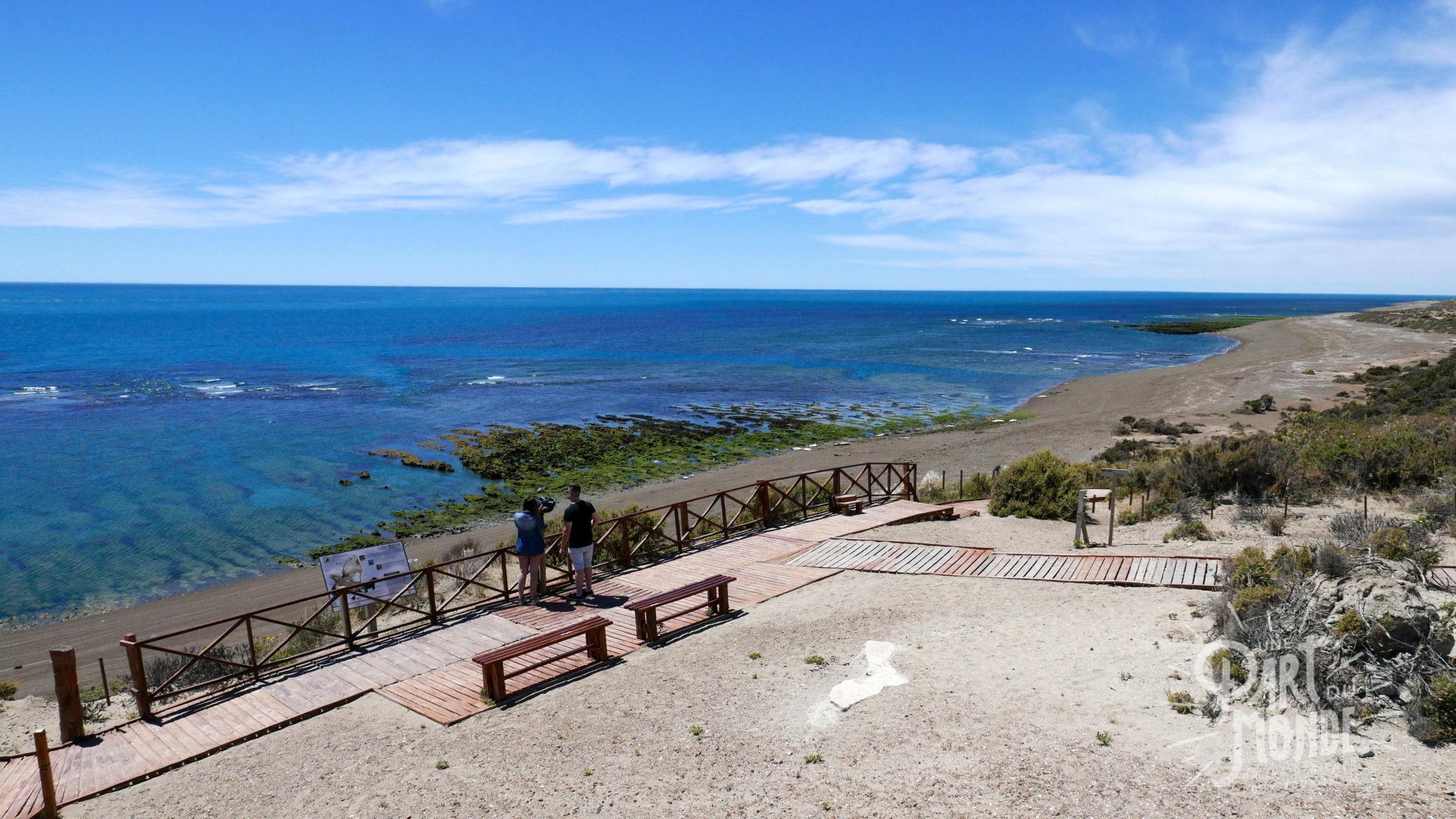 péninsule de valdès mer