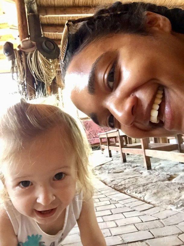 emilia et moi volontariat à mendoza