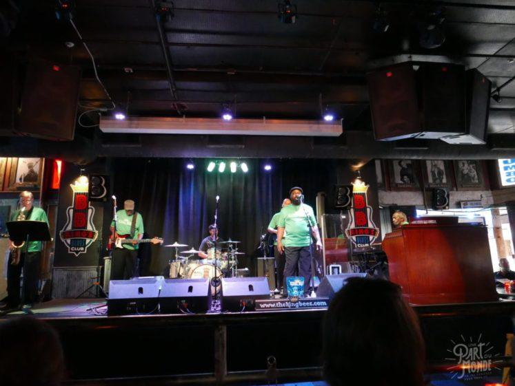 concert BB king 11 mois de tour du monde