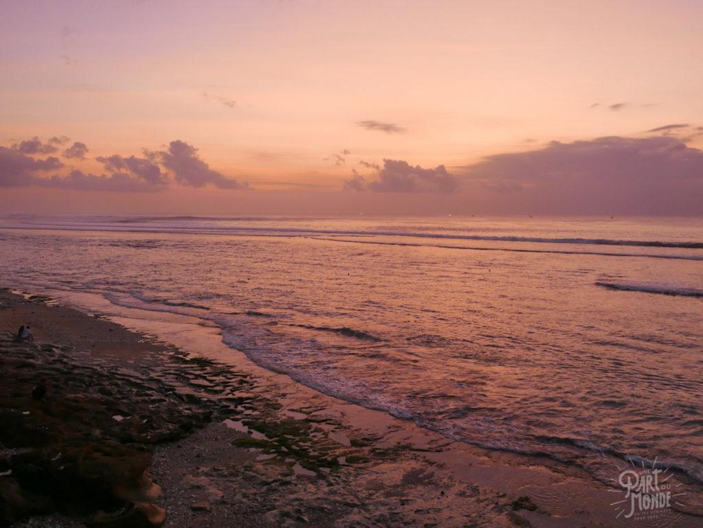 coucher de soleil rose 11 mois de tour du monde