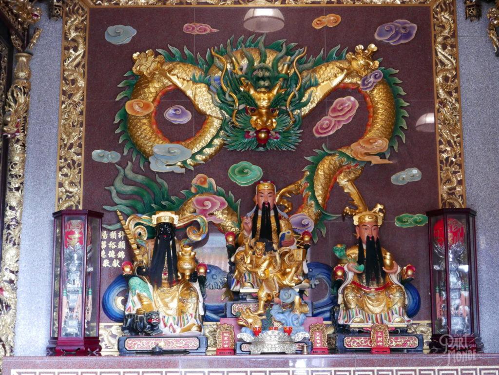 intérieur temple jiufen