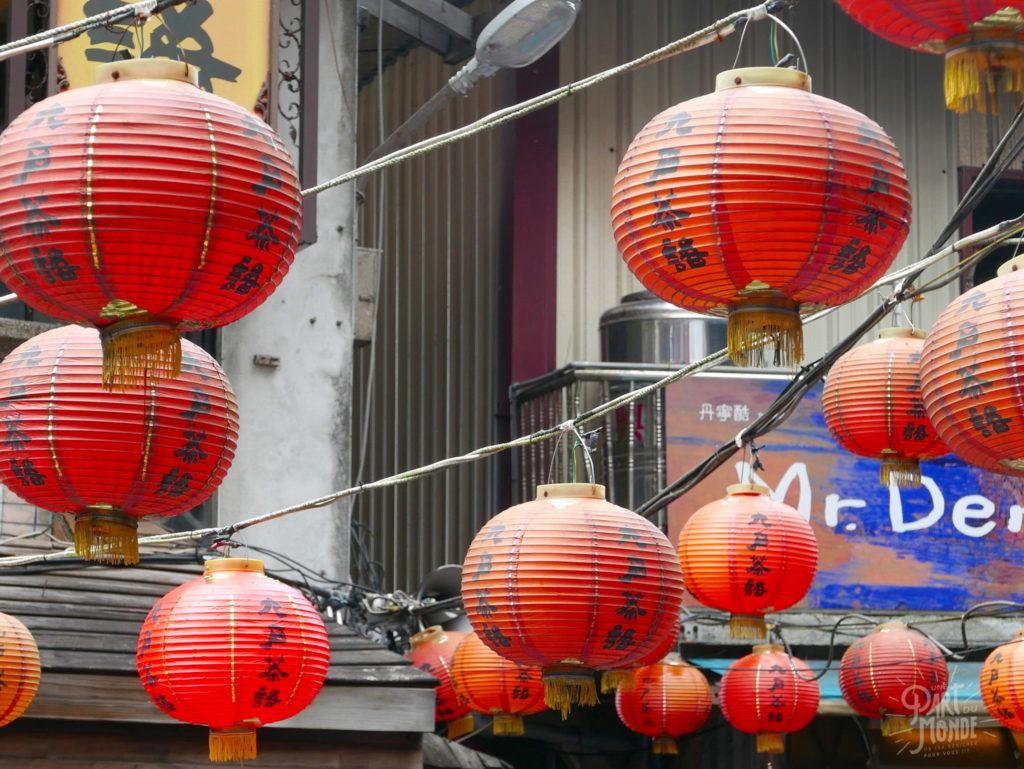 lanternes rouges old street jiufen