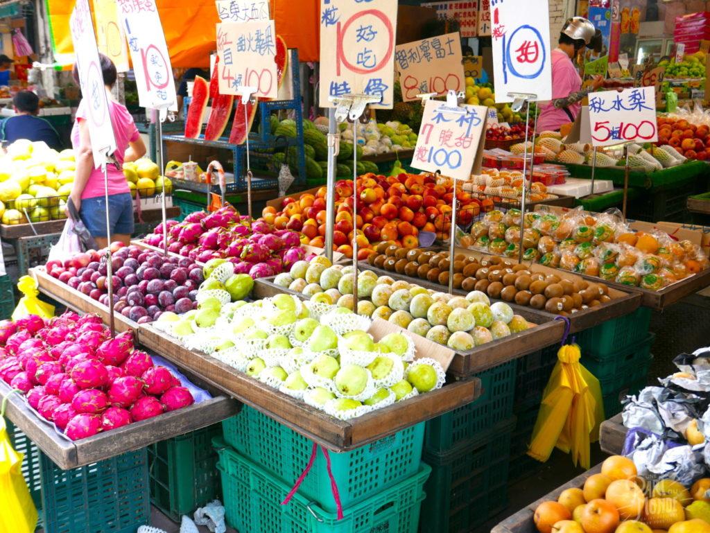 marché taipei fruits