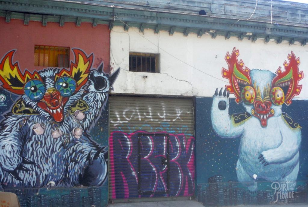 street art diablotin santiago du chili