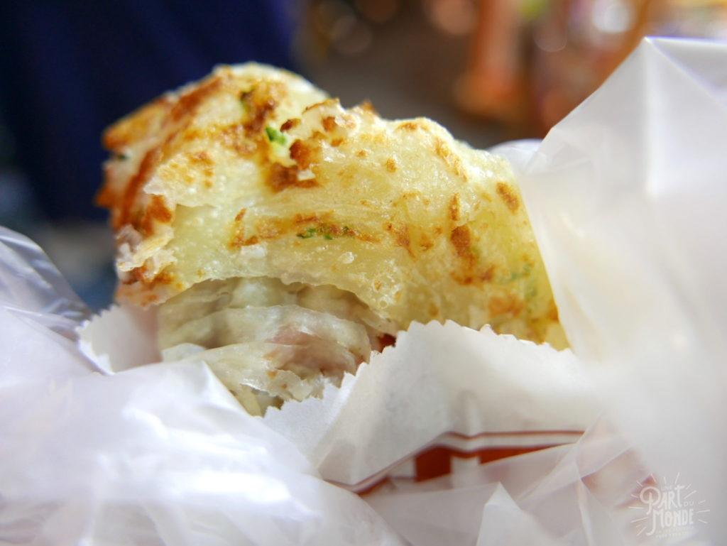 night market taichung crepe oignon