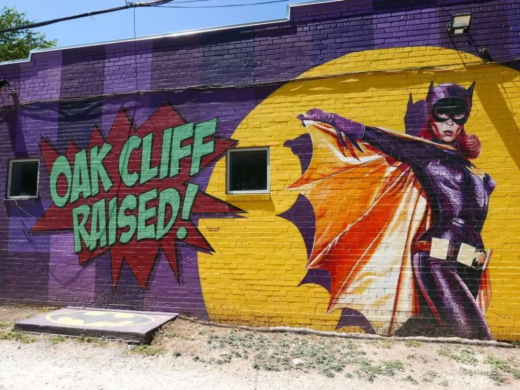 oak cliff dallas street art
