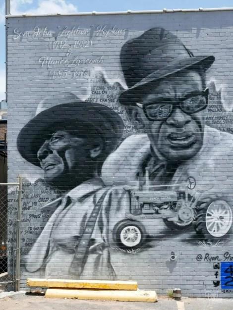 street art deep ellum black men