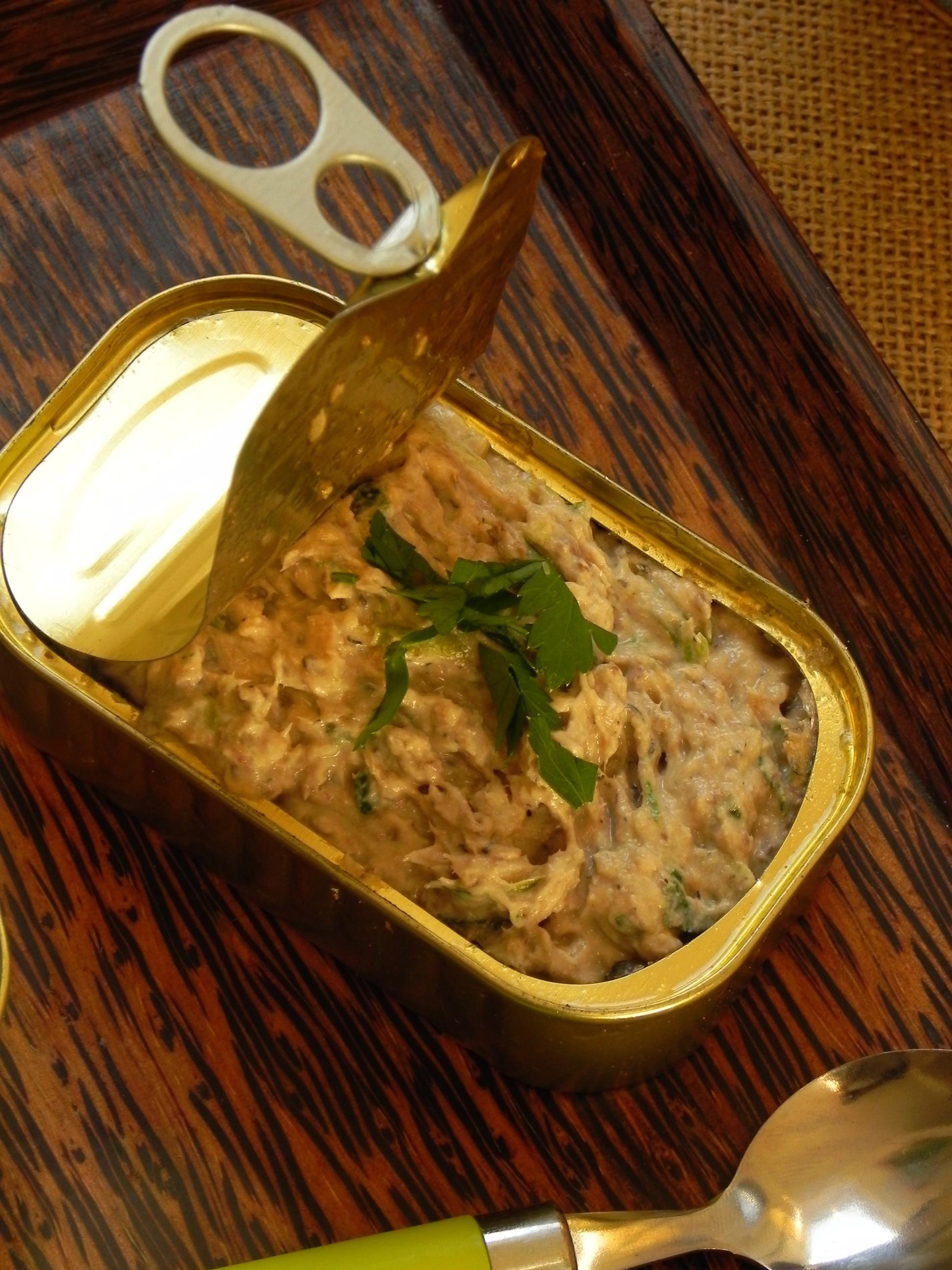 Rillettes De Sardines Moutarde : rillettes, sardines, moutarde, Rillettes, Sardines, Plume, Cuisine