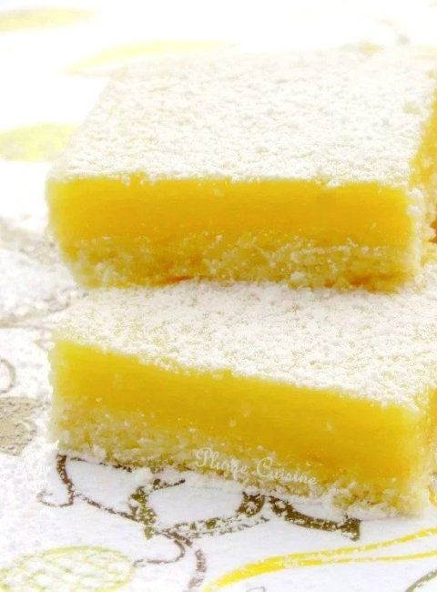 carrés-citron