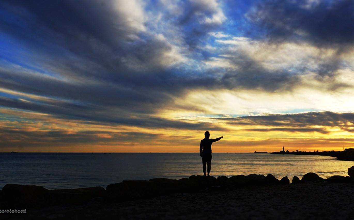 Silhouette-photography-sunset