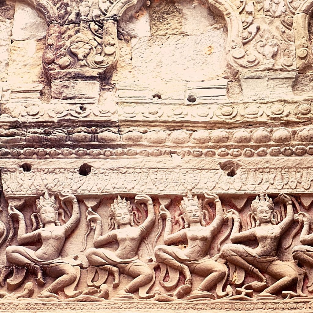 Angkor-Wat-architectural-detail-on-a-temple