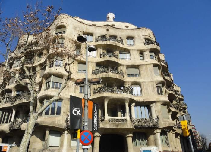 Casa Milà in Barcelona