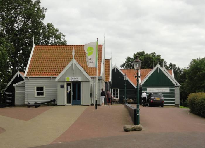 Houten huisjes op werelderfgoed Schokland