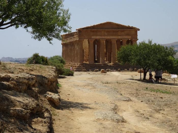 Concordia tempel in Agrigento